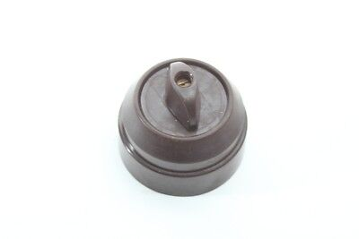 Old Rotary Switch Bakelite Exposed Light Switch Art Deco Loft Toggle Switch