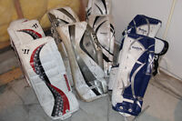 Used Youth and Junior Goalie Equipment: