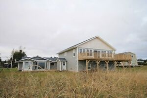 Large Waterfront Beach House with Cottage (Souris,PEI)