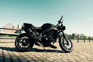 Triumph speed triple noir mat
