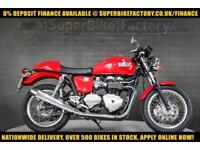2011 11 TRIUMPH THRUXTON 865CC 0% DEPOSIT FINANCE AVAILABLE