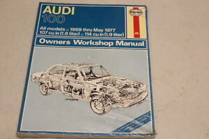 1969-MAY 1977 AUDI 100 OWNER'S WORKSHOP MANNUAL