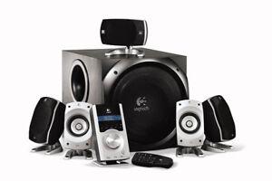 Logitech Z-5500 Digital Surround Sound Speaker System - $250