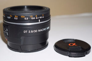 SONY A mount lenses