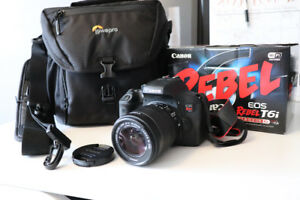 Canon Rebel T6i EF-S 18-55 IS STM Kit