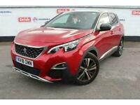 2018 Peugeot 3008 1.6 THP GT Line 5dr EAT6 Estate Automatic Estate Petrol Automa