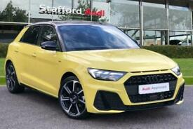 image for 2020 Audi A1 Sportback S line Contrast Edition 35 TFSI  150 PS S tronic Auto Hat