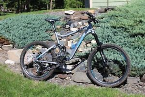 2011 Giant Reign 1 XL, Upgraded build