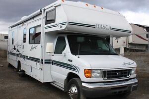 2004 ITASCA SPIRIT 29B WITH COACH AND BEDROOM SLIDES!