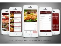 Restaurant Website and App - £150