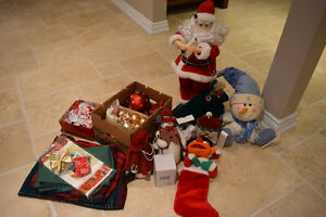 Lot of Christmas Decoration- Various Used Items