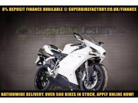 2010 10 DUCATI 848 848CC 0% DEPOSIT FINANCE AVAILABLE