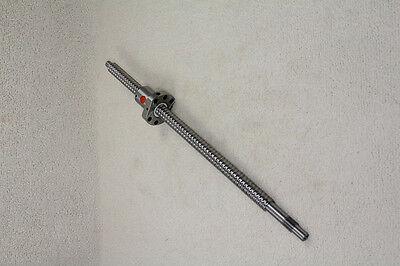 1 Set Anti Backlash 16mm Ballscrew Rm1605-650mm-c7 End Machineball Nut Cnc Xyz