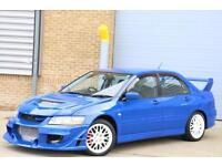 MITSUBISHI LANCER EVO 7 Fresh import from JAPAN. RUST FREE UNDER BODY, Blue, Ma