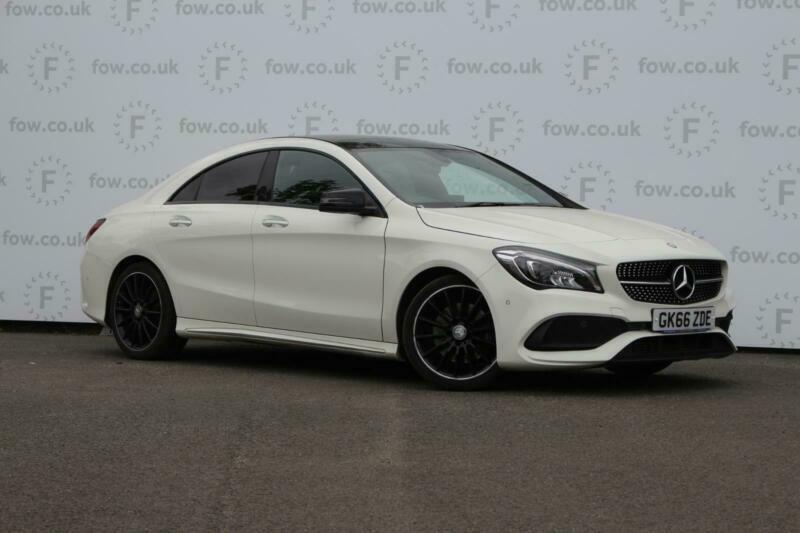 2016 Mercedes-Benz CLA CLASS CLA 220d AMG Line 4dr Tip Auto Saloon Diesel Automa