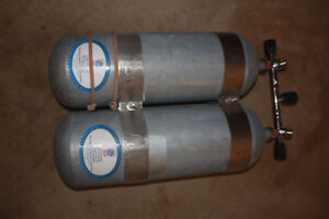 Scuba Tanks,  steel tanks,