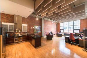 "BEATTY LOFTS: Stunning & Rare 2 bedroom-loft ""Mixed Use"" condo."