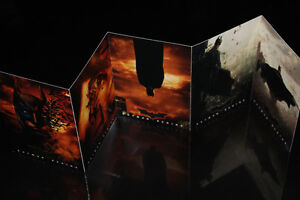 "4X BATMAN BEGINS-COLLECTION-CARTES/CARDS-4""X6"" (NEUF/NEW)"