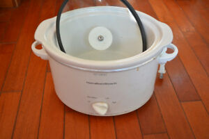 Hamilton Beach 3 Quart (small) Slow Cooker