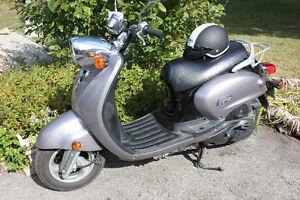 2007 Yamaha 125cc Vino