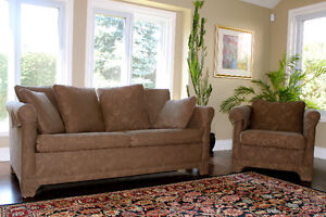 CAMEO Pull Out 2 Seater Sofa Bed with Matching Club Chair