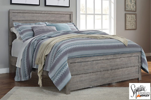 Brand NEW Culverbach Grey Complete Queen Bed! Call 204-726-3499!