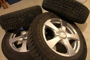 ALLOY WHEELS WITH GOODYEAR NORDIC WINTER TIRES