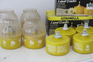 Citronella Liquid Candles
