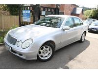 2005 (55 Plate) Mercedes E Class E200 Komp Classic Automatic Silver 4 Door Saloo