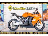 2012 12 KTM RC8 1190CC 0% DEPOSIT FINANCE AVAILABLE