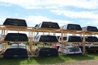 NEW and USED TRUCK CANOPIES, TOPPERS, CAPS, DCU's Red Deer Alberta Preview