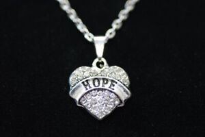 NEW Hope Heart Necklace