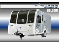 Bailey Pegasus Grande SE Bologna, New 2021, 4 Berth, Touring Caravan