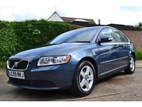 2009 VOLVO S40 2.0 S D AUTOMATIC BLUE SALOON DIESEL