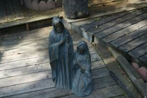 Mary and Joseph Outdoor Statues