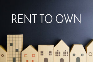 Rent to Own / Lease to Own opportunity