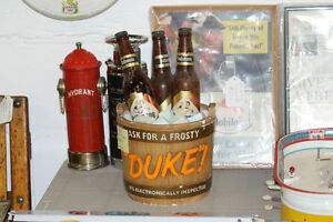 1950's Ceramic Duke Beer Display NEW PRICE