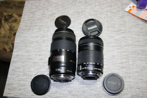 Canon ef-s 18-135 IS  and EF 75-300 IS