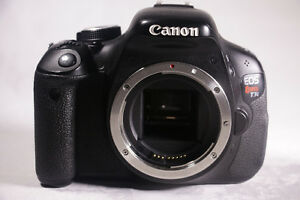 Price Lowered! Canon Rebel T3i w/2Batteries, Charger St. John's Newfoundland image 2