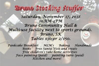 Vendors Wanted for Bruno Stocking Stuffer