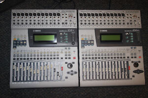 Yamaha 01v Digital Mixing Console with MY8-AT ADAT Opt card