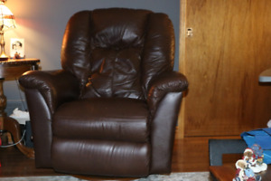 Leather Lazyboy Chair Recliner