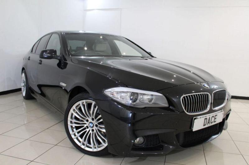 2011 11 BMW 5 SERIES 2.0 520D SE 4D AUTO 181 BHP DIESEL