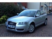 2007 Audi A3 1.9 Tdi Sportback, Special Edition, Genuine 63000 Miles, Full History MOT 12 Months