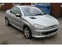 Fantastic Condition Peugeot 206 Convertible - 2 Owners, Full Leather