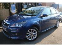 2009 (59 Plate) Ford Focus 1.6 Zetec S Blue 5 Door Finance Available