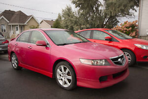 2004 Acura TSX A-Spec manuelle