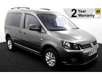 2014(63) VW CADDY 1.6 TDi LIFE SIRUS DRIVE FROM AUTO WHEELCHAIR ACCESSIBLE