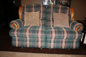 MOVING: PRICE REDUCED RECLINING SOFA AND ROCKER
