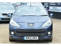 2012 Peugeot 207 1.6 CC ACTIVE 2d 120 BHP + FREE DELIVERY + FREE 3 MONTHS WARRAN